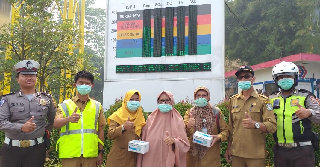 10.000 Masker dibagikan Antisipasi Gangguan Kesehatan – 1