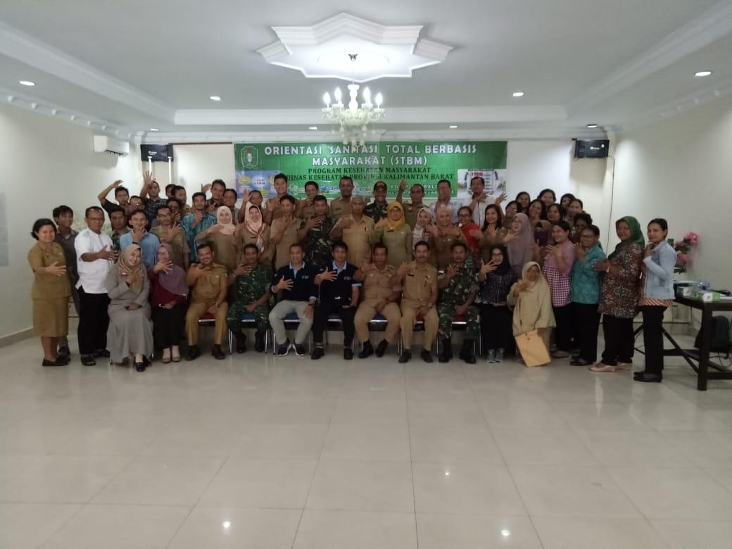 Pertemuan Orientasi STBM di Kab. Sanggau