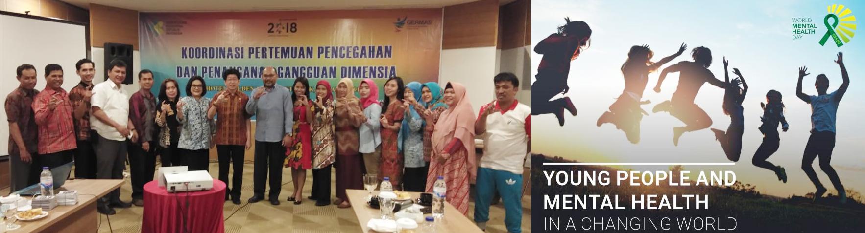Foto Bersama Koordinasi Pertemuan Pencegahan Dan Penanggulangan Dimensia