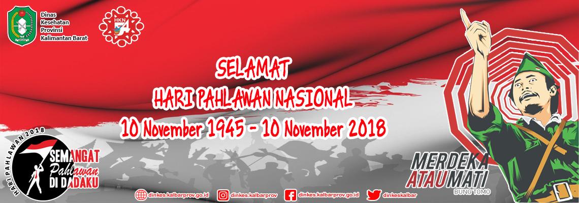 Hari Pahlawan Nasional 2018