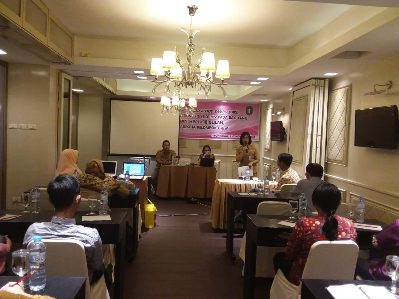 Kegiatan Workshop Prepasari Sampel Dried Blood Sample ( DBS )